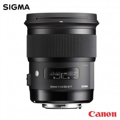 Объектив SIGMA 50mm f1.4 DG HSM Art Canon