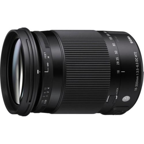 Объектив SIGMA 18-300mm f3.5-6.3 DC MACRO OS HSM Nikon