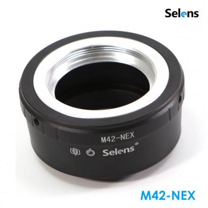 Адаптер Selens M42 на Sony NEX
