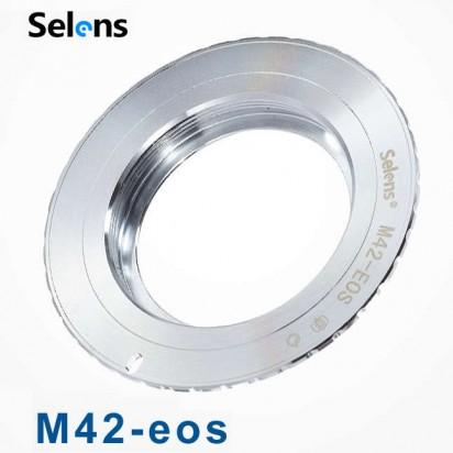 Кольцо переходное Selens M42 на Canon EOS