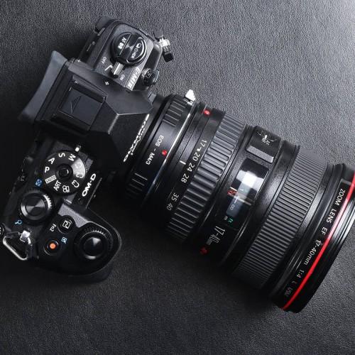 Адаптер объектива K&F Canon EOS - M4/3 MFT