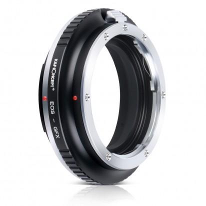 Адаптер объектива K&F Canon EOS EF - Fuji GFX