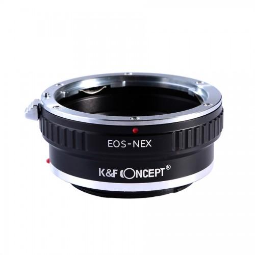Адаптер объектива K&F Canon EOS EF - SONY E NEX