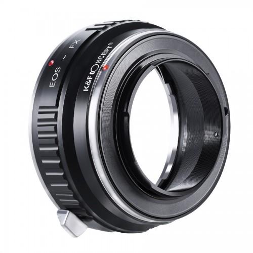 Адаптер объектива K&F Canon EOS - FUJI FX