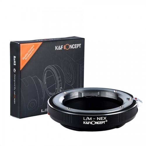 Адаптер объектива K&F Leica M - SONY E NEX