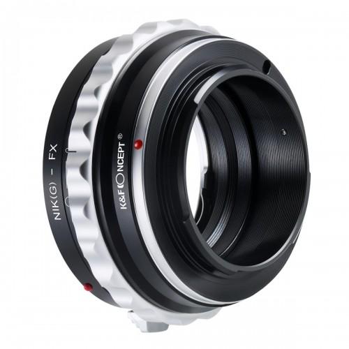 Адаптер объектива K&F Nikon D G F AI AIS - FUJI FX