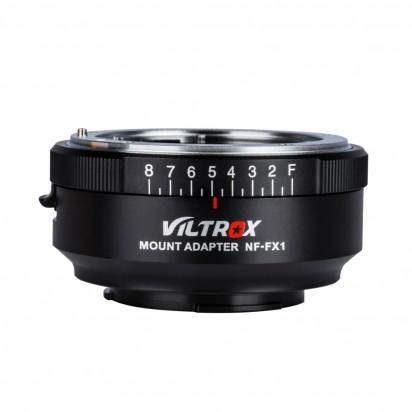 Переходник Viltrox Nikon NF-FX1 Fuji