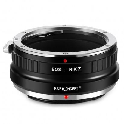 Адаптер объектива K&F Canon EOS - NIKON Z