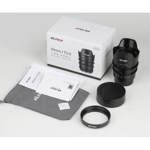 Объектив Viltrox S20mm Cinematic T2.0 E-mount Sony