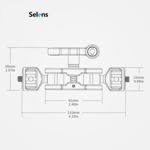 Шарнирный держатель Selens Magic Arm SYBH-3