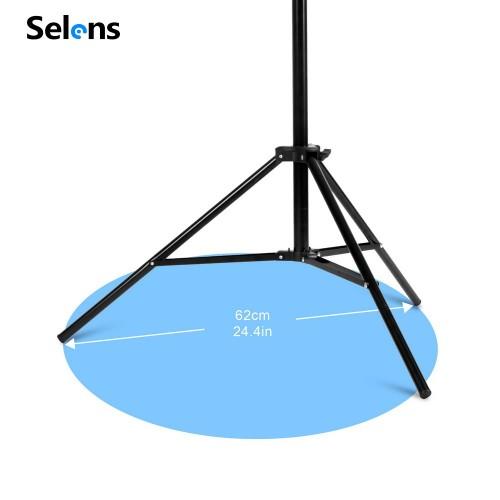 Т-образная стойка Selens для PVC фона 200x260 cm