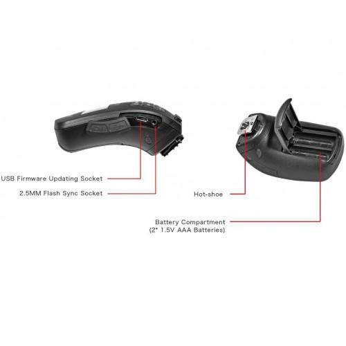 Радиосинхронизатор JINBEI TR-Q6C Bluetooth TTL HSS Canon