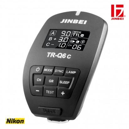 Радиосинхронизатор JINBEI TR-Q6N Bluetooth TTL HSS Nikon