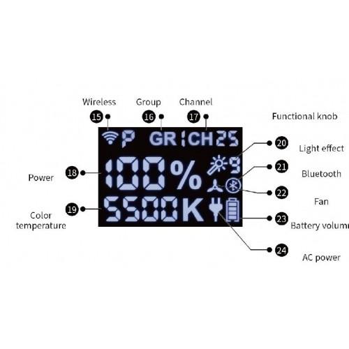 Светодиодный осветитель JINBEI EFII-150 LED 5500K