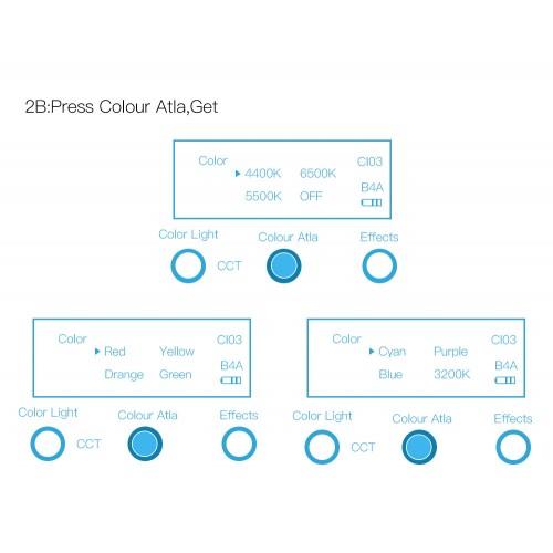Панель Yidoblo LED A-2200C RGB