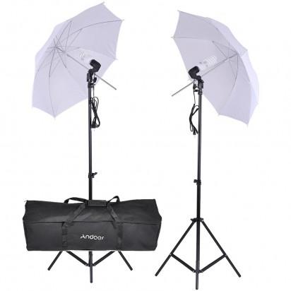 Комплект постоянного света Andoer E27 Kit2