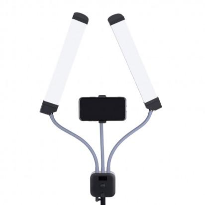 Двойная Лампа для Визажиста Fill LED Light K1