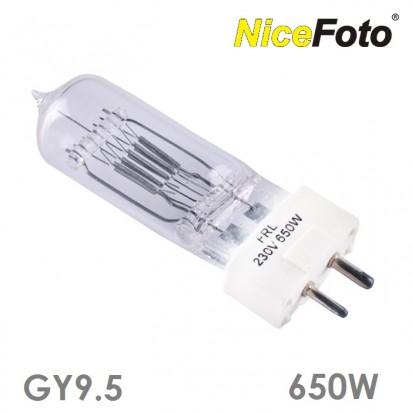 Лампа галогенная GY-9.5 220V-650W для Френеля