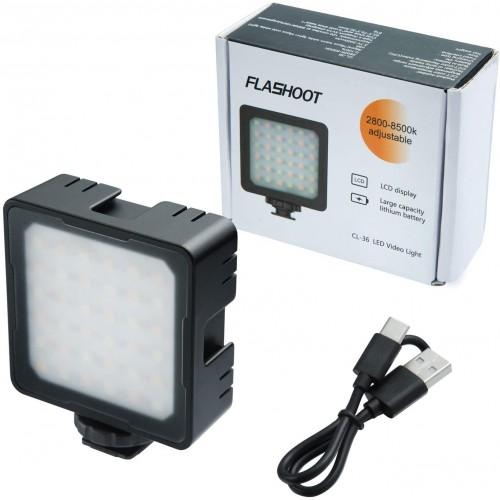Накамерный LED свет FLASHOOT CL-36