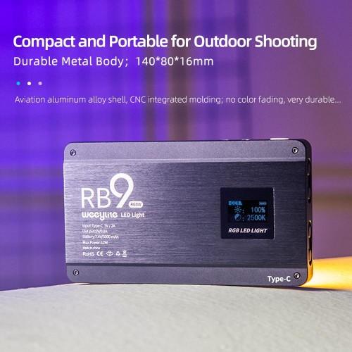 Осветитель VILTROX RB9 RGB