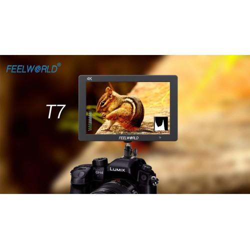 Накамерный монитор FEELWORLD T7 Metal