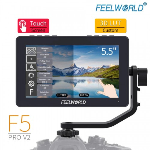 Накамерный монитор FeelWorld F5 PRO-V2 LUT Touch