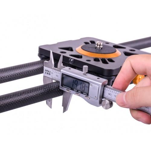 Слайдер для камеры ASHANKS D100 Carbon