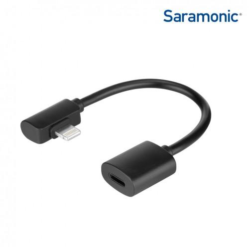 L-образный Lightning адаптер SARAMONIC DITC80