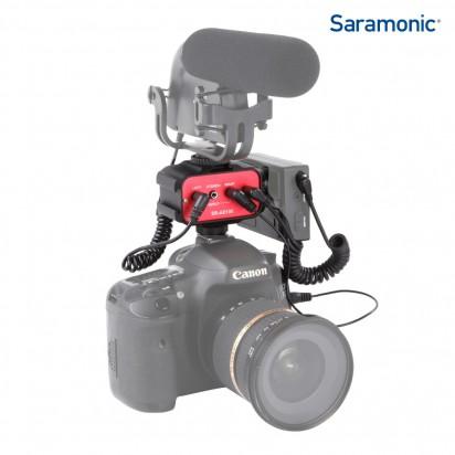 Микшер Saramonic SR-AX100 накамерный