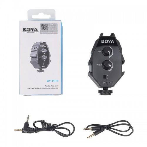 Аудио микшер накамерный BOYA BY-MP4