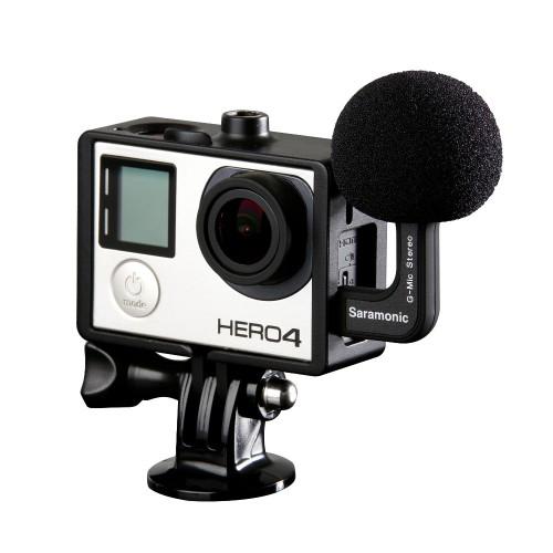 Микрофон Saramonic G-Mic для камер GoPro