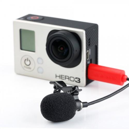 Петличный Микрофон SARAMONIC SR-GMX1 GoPro Hero