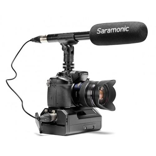 Профессиональный микрофон пушка SARAMONIC SR-TM1