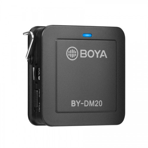 Двухканальный петличный микрофон BOYA BY-DM20