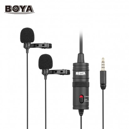 Петличный Микрофон BOYA BY-M1DM