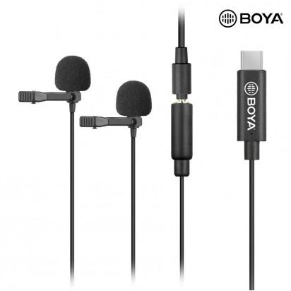 Петличный Микрофон BOYA BY-M3D