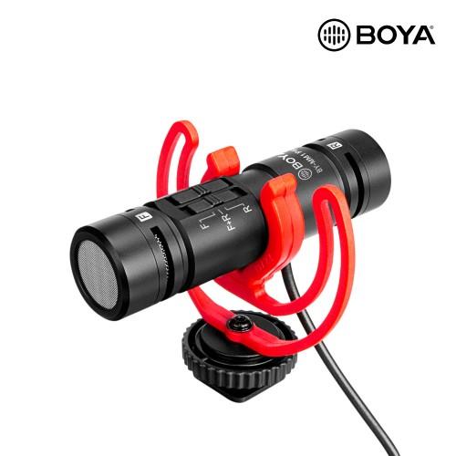 Микрофон BOYA BY-MM1 PRO Dual Stereo