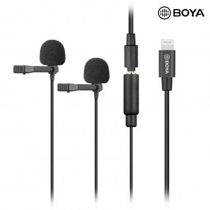 Петличный Микрофон BOYA BY-M2D