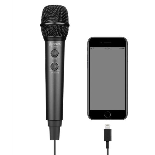 Микрофон BOYA BY-HM2 для смартфона ПК