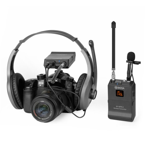 Петличный Радио Микрофон BOYA BY-WFM12