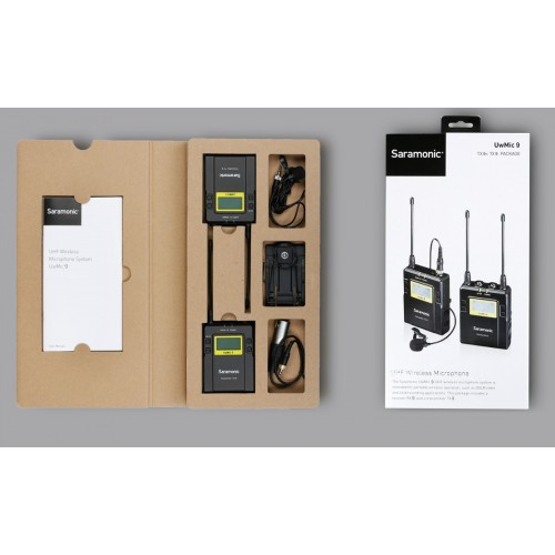 Петличный радио микрофон Saramonic UWMIC9 KIT1