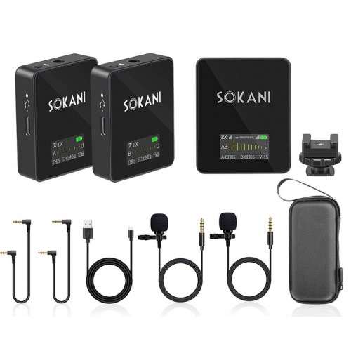 Радиосистема SOKANI TINY TWIN-GO2 UHF