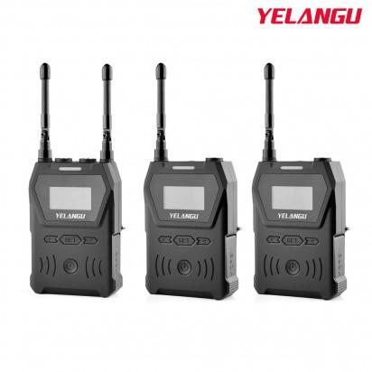 Петличный радио микрофон YELANGU MX4-K2