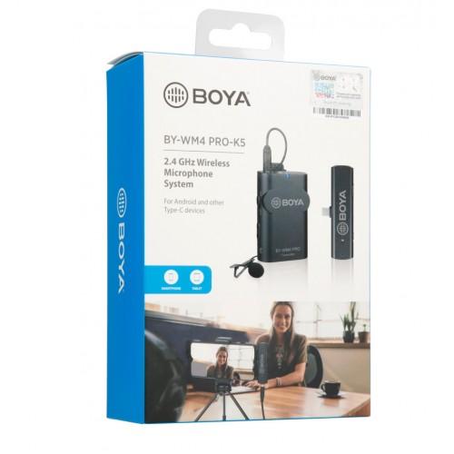 Микрофон BOYA BY-WM4 Pro K5 USB-C